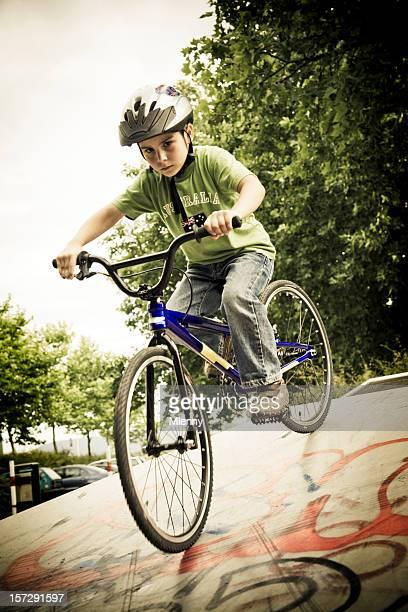 Down the Halfpipe, BMX Portrait