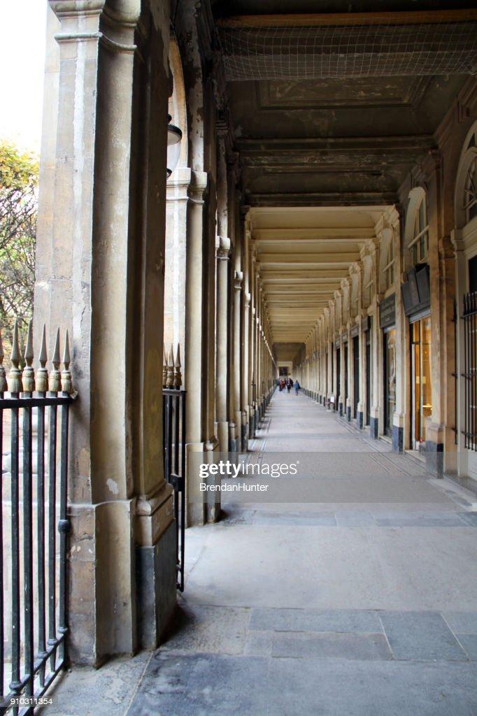 Down the Long Corridor : Stock Photo