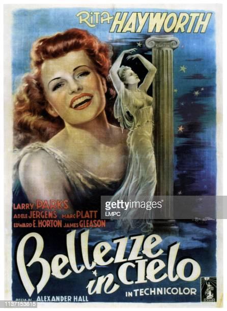 Down To Earth, poster, , Rita Hayworth, 1947.