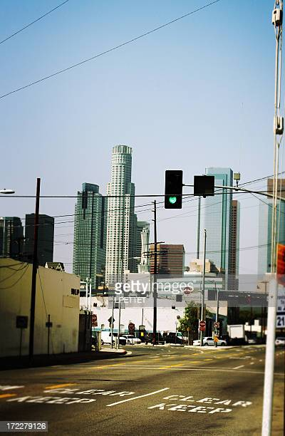 Down Town Los Angeles Street View