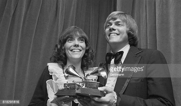 Pop singer Karen Carpenter who recorded a string of hit songs with her brother Richard died 02/04/83 hospital officials said She was 32 The...