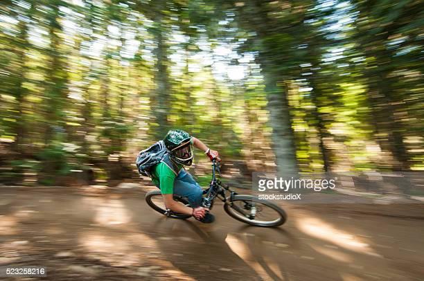 Mounatin Downhill-Biking