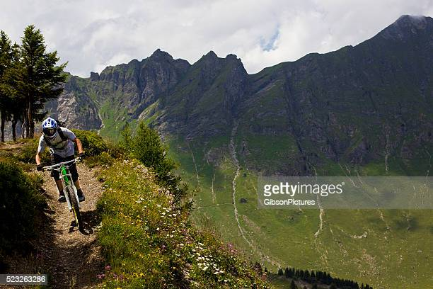 Downhill-Mountainbiking in der Schweiz