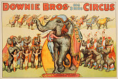 Downie bros big 3 ring circus poster picture id526780384?s=170x170