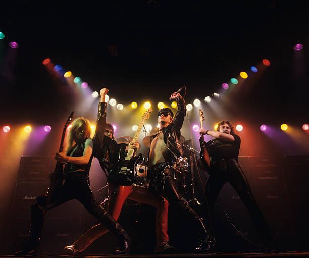 Judas Priest Album Cover Shoot