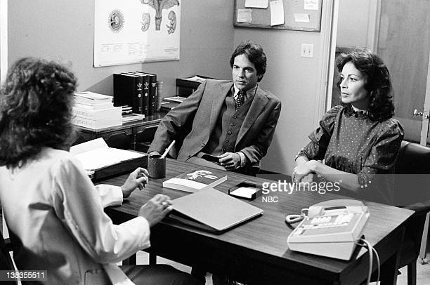 ST ELSEWHERE Down's Syndrome Episode 3 Pictured Cynthia Sikes as Dr Annie Cavanero Tony Bill as Brian Whitehill Maureen Anderman as Denise Whitehill