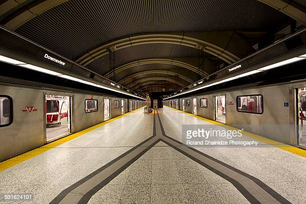 downsview subway station - underground sign stock pictures, royalty-free photos & images
