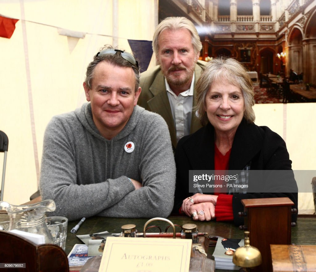 Downton Abbey S Hugh Bonneville Left Who Plays The Earl Of Grantham David Robb