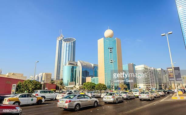 downtown abu dhabi - abu dhabi stock pictures, royalty-free photos & images