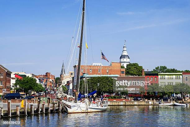 Downtown Annapolis in Maryland