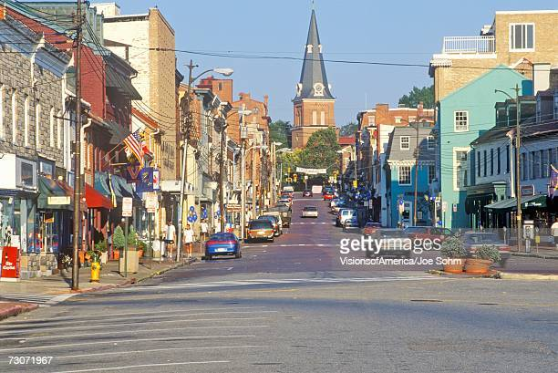 'Downtown Annapolis, Maryland'