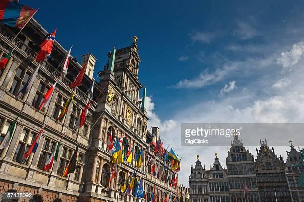 Innenstadt von Antwerpen, Belgien
