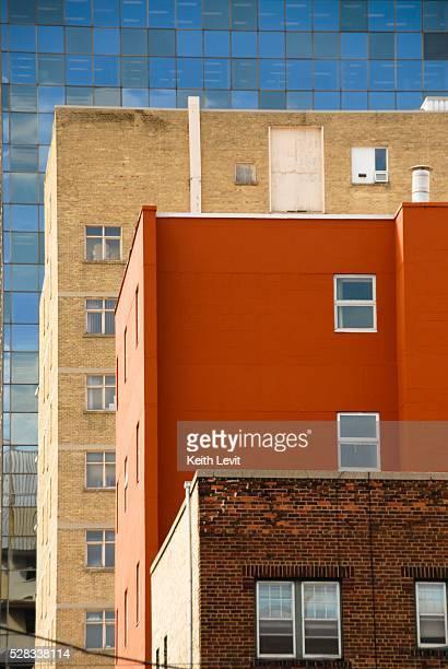 Downtown apartment buildings, Winnipeg, Manitoba, Canada