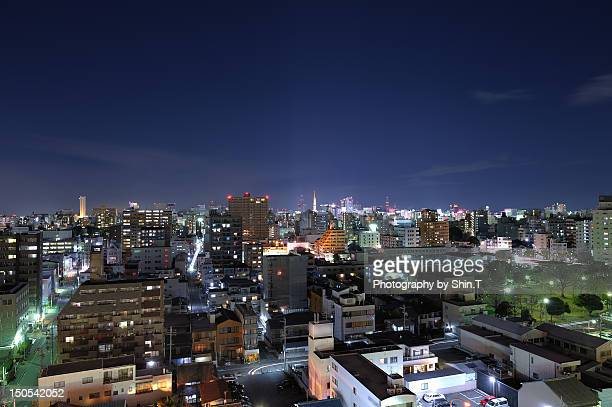 Downtown area in Nagoya