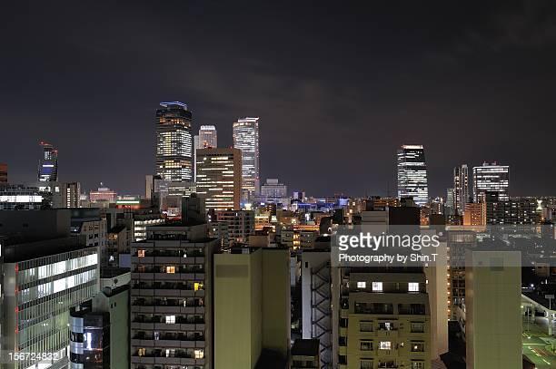 Downtown area in Nagoya V