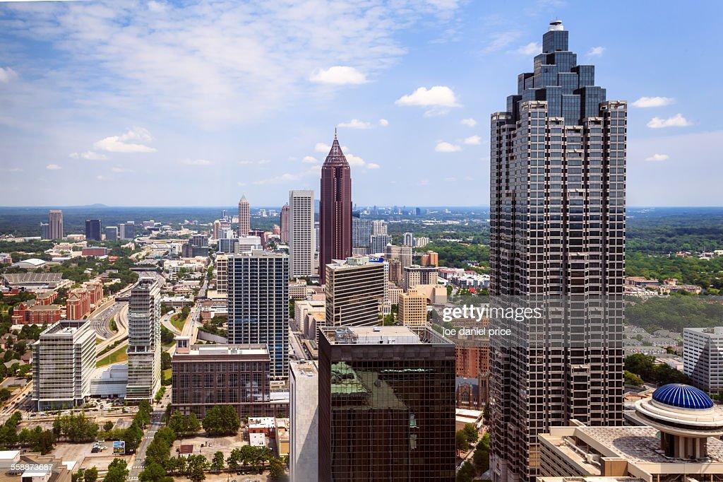Downtown Atlanta, Georgia, America : Stock Photo