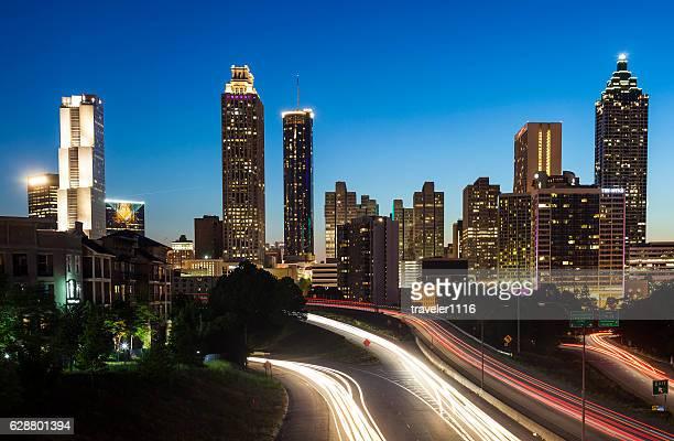 Der Innenstadt von Atlanta, Georgia