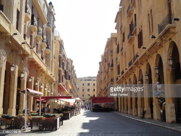 downtown beirut, lebanon - beirut stock pictures, royalty-free photos & images