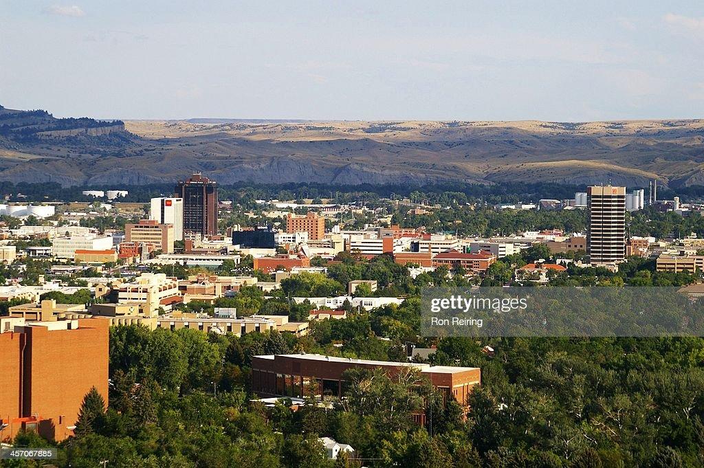 Downtown Billings, Montana : Foto de stock