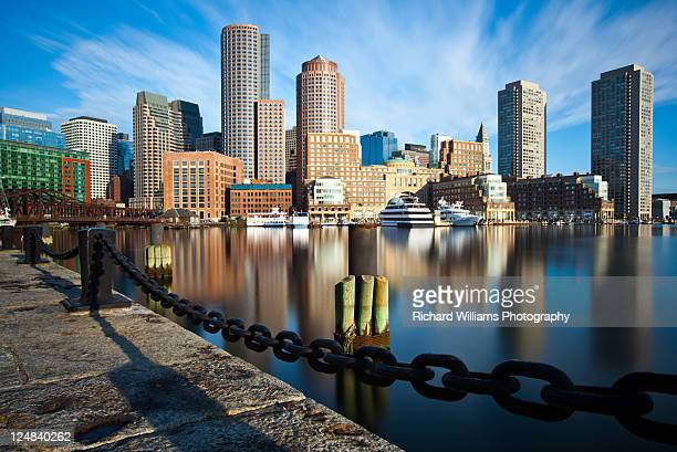 downtown boston - boston stock pictures, royalty-free photos & images