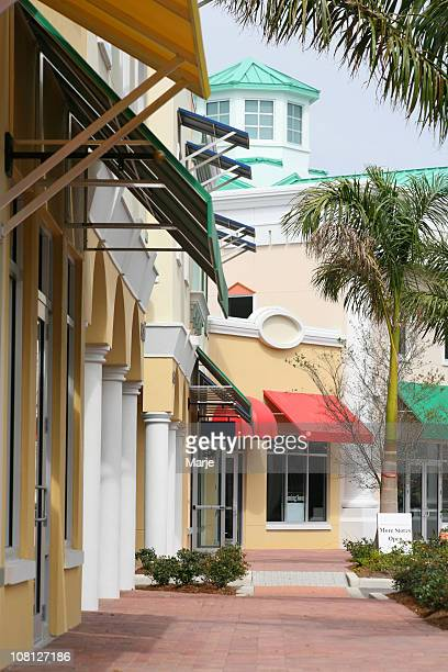 downtown boutique shops - sarasota stock photos and pictures