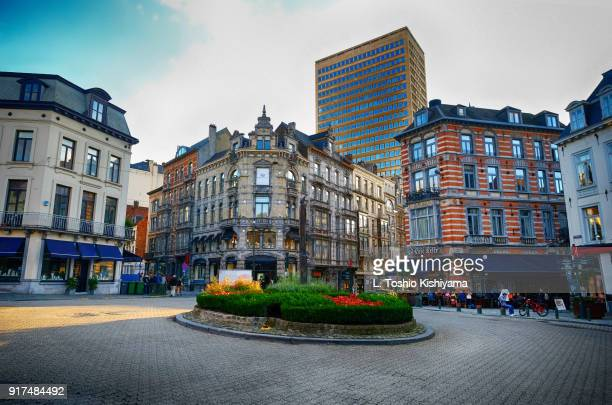 Downtown Brussels, Belgium