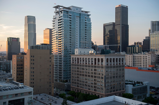 Downtown buildings at Los Angeles, USA - gettyimageskorea