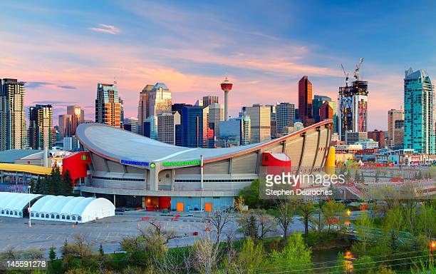 downtown calgary - calgary stock pictures, royalty-free photos & images