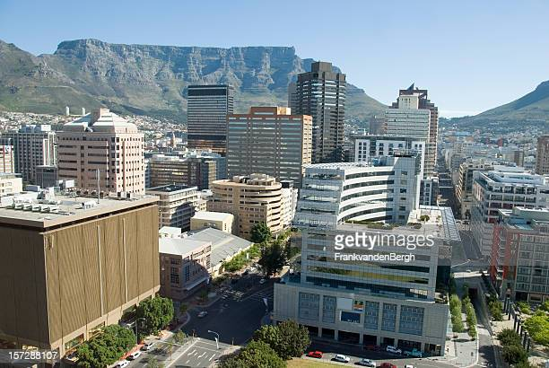 Downtown Capetown with Table Mountain