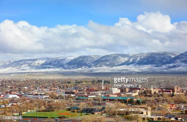 ダウンタウン キャスパー (ワイオミング州) - ワイオミング州 ストックフォトと画像