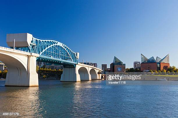 downtown chattanooga, tennessee - chattanooga stock pictures, royalty-free photos & images
