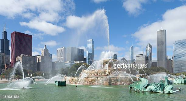 Downtown Chicago - Buckingham Fountain