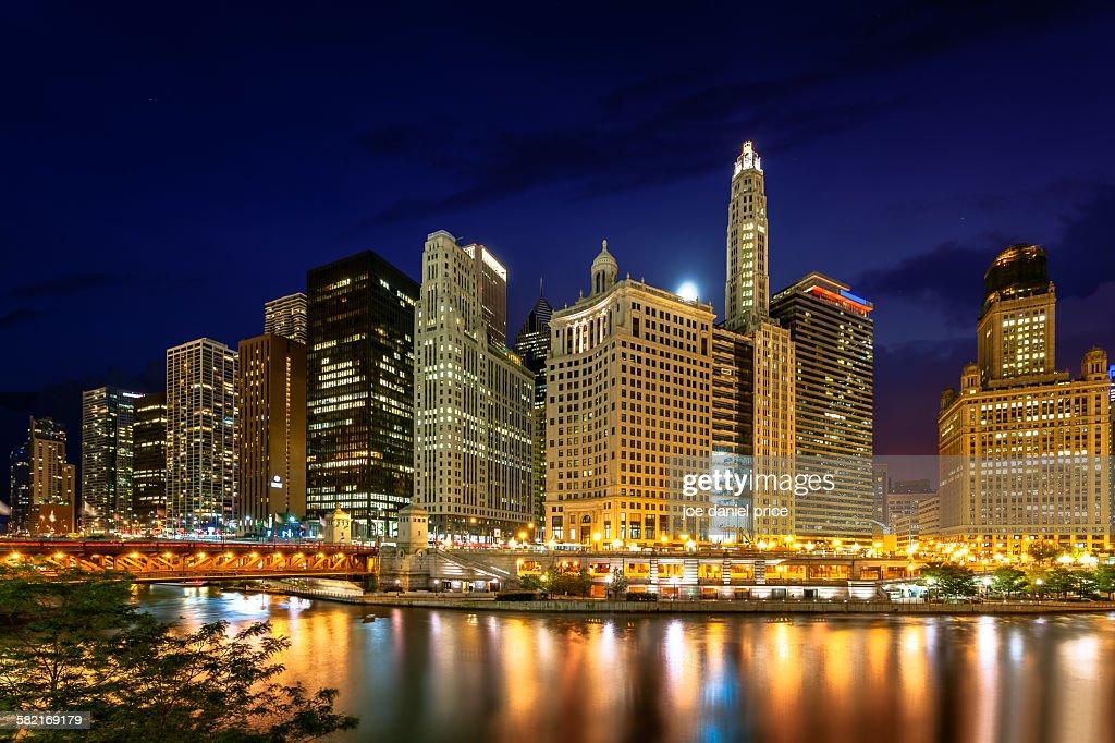 Downtown Chicago, Illinois, America : Foto de stock