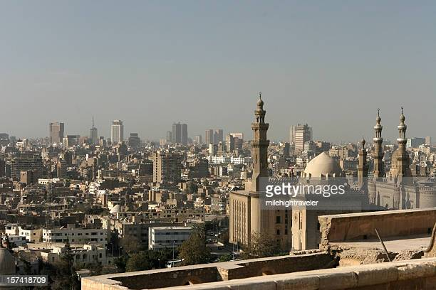 Downtown city of Cairo, Egypt