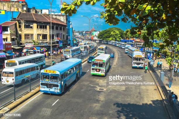 downtown colombo. - imagebook stock pictures, royalty-free photos & images