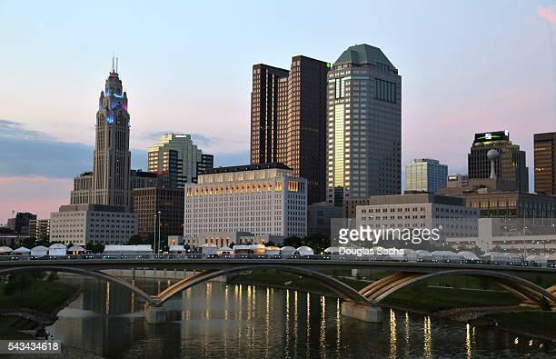 Downtown Columbus, Ohio, USA