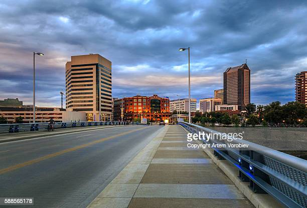 downtown columbus - columbus ohio stock pictures, royalty-free photos & images