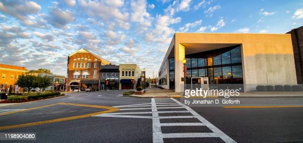 downtown crosswalk - kentucky stock pictures, royalty-free photos & images