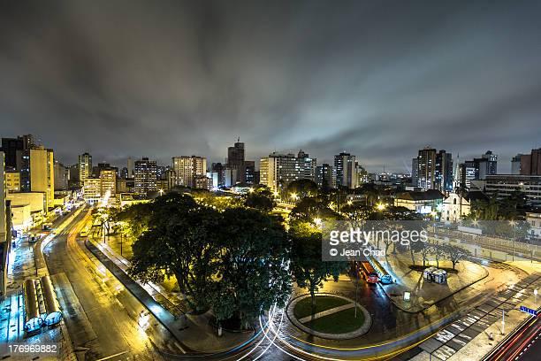 downtown curitiba - curitiba stock pictures, royalty-free photos & images