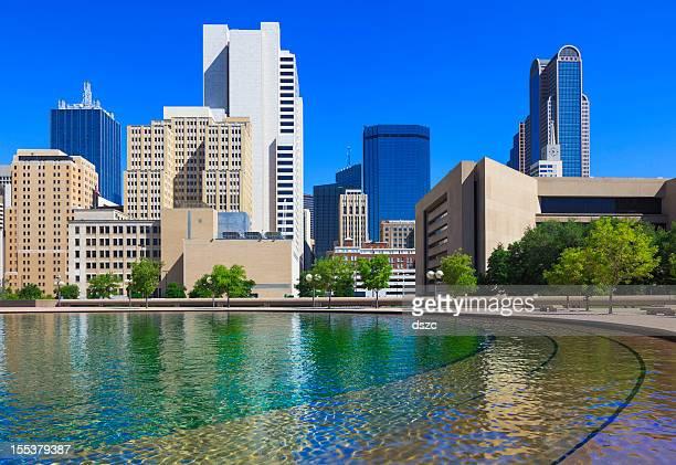 El centro de la ciudad de Dallas