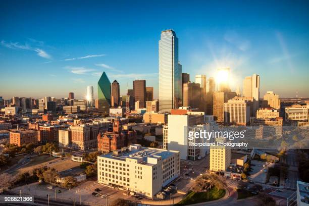 downtown dallas texas - dallas stock pictures, royalty-free photos & images