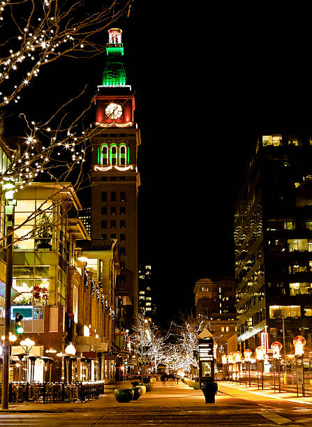 Downtown Denver at Christmas