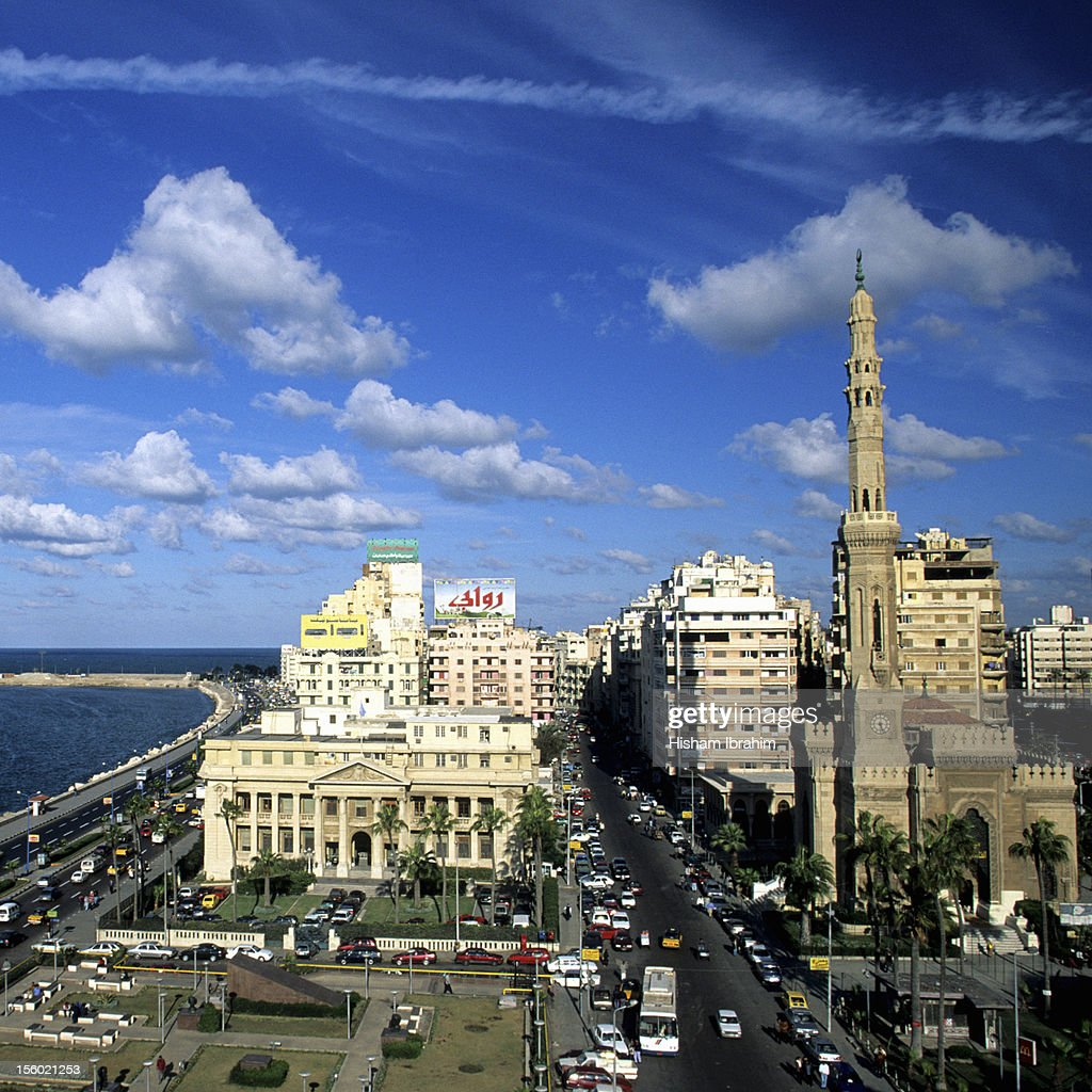Downtown District, Alexandria, Egypt : Stock Photo