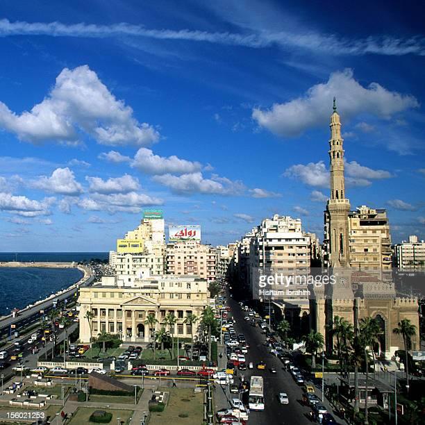 Downtown District, Alexandria, Egypt