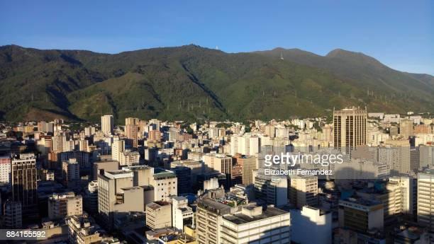 Downtown District and Skyline-Caracas, Venezuela