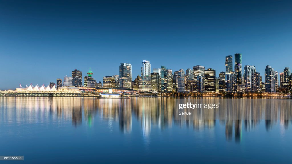 Downtown district of Vancouver : Stock Photo
