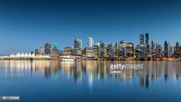 Downtown district of Vancouver