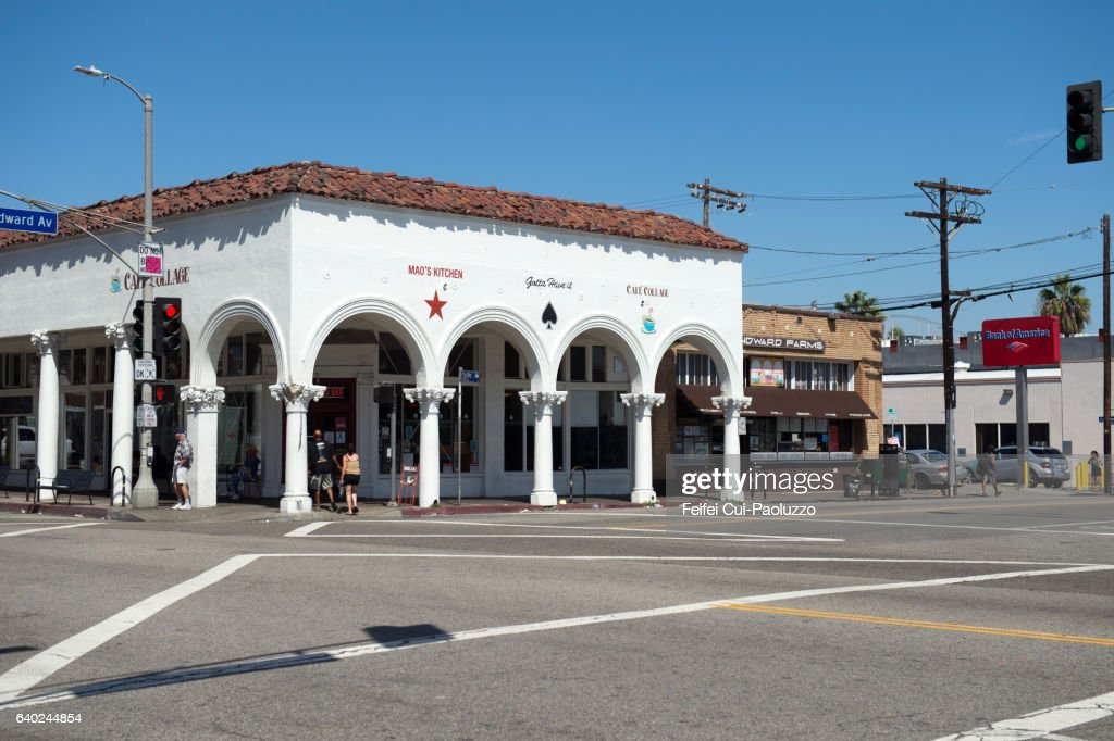 Downtown District Of Venice Beach In California State Los Angeles County Usa Stock