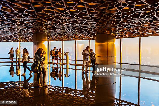 Downtown Dubai, At The Top Burj Khalifa, the Observation Desk