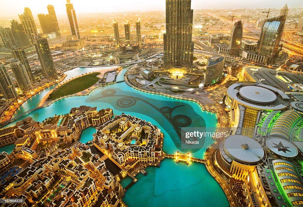 Downtown Dubai : Stock Photo